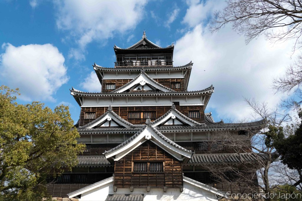 El castillo: un imperdible que ver en Hiroshima