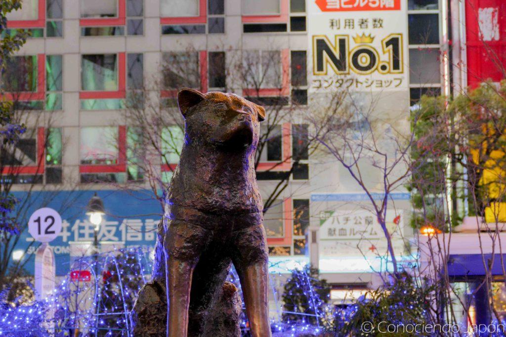 Estatua de Hachiko que tienes que ver en Tokio