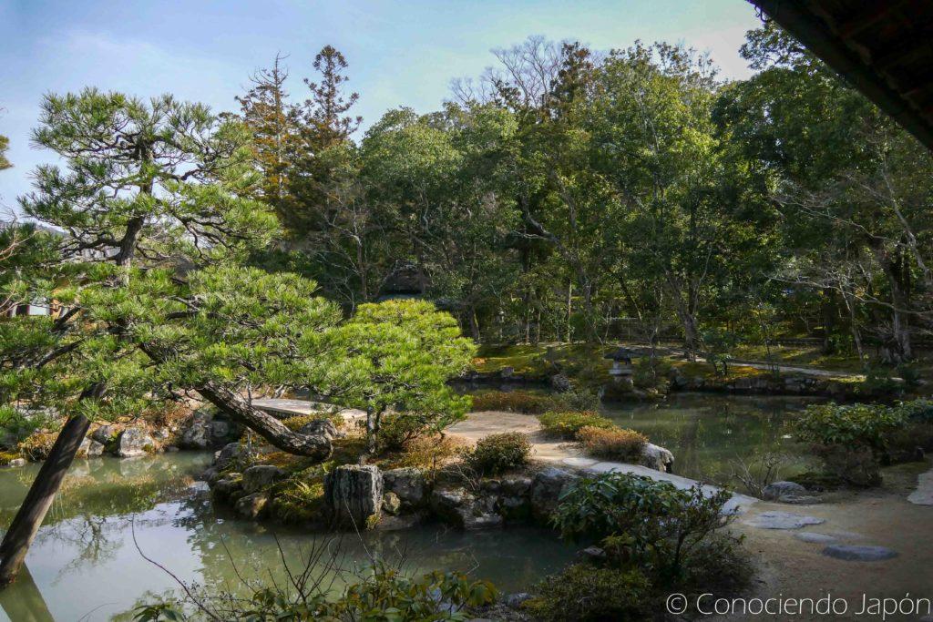 Vista del Jardín Isui-en