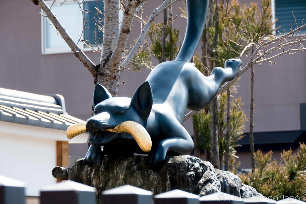 Kitsune, mensajero del dios Inari