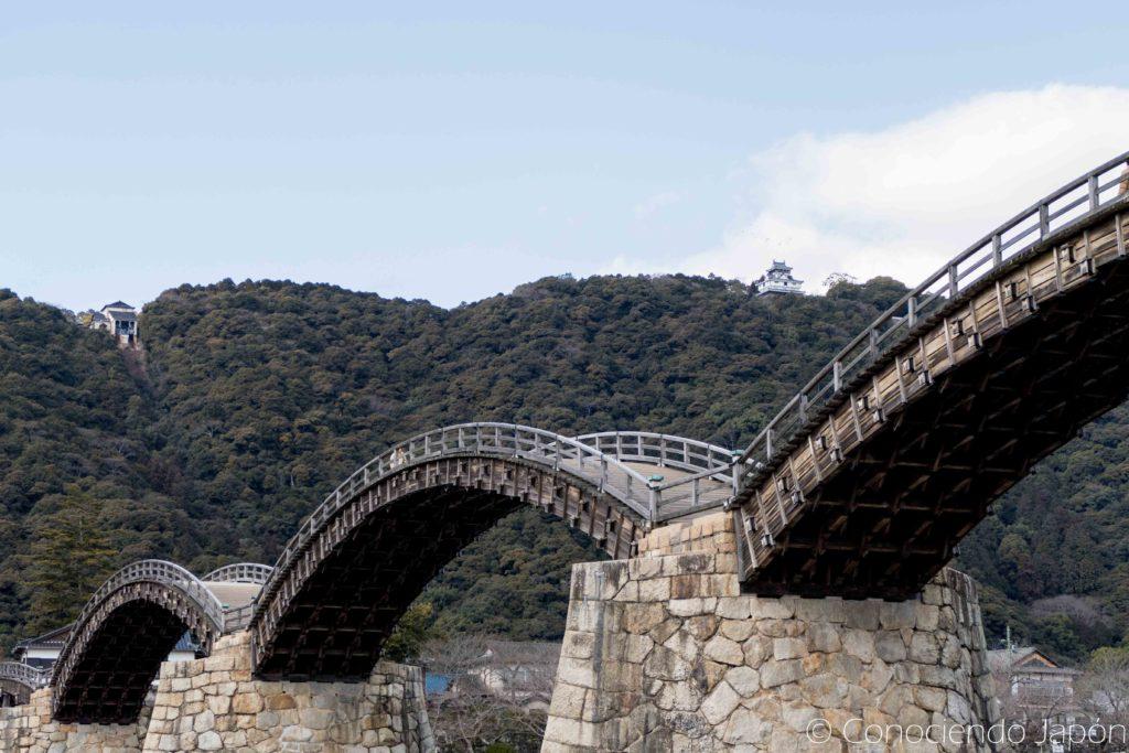 Puente de 5 arcos en Iwakuni