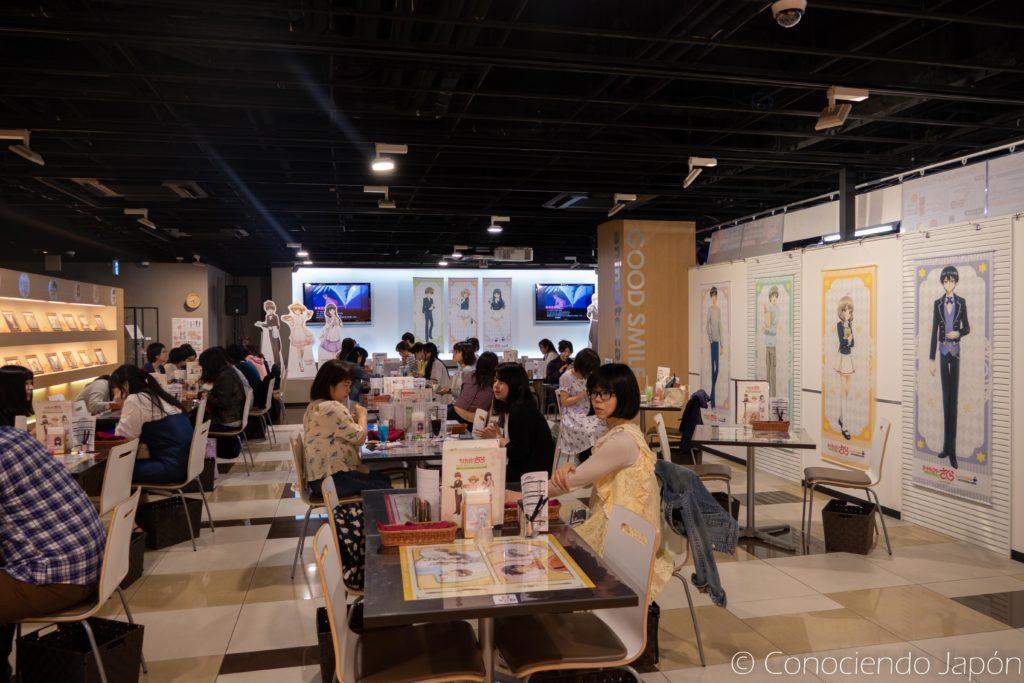 Salón del CCS Cafe en Akihabara, Tokio