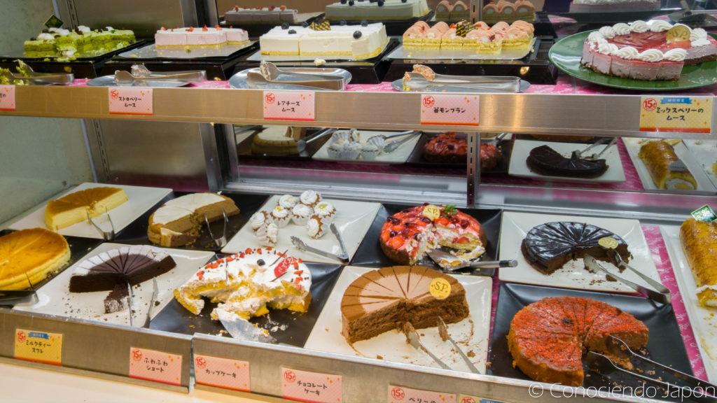 Tortas para degustar en el Sweets Paradise CCS